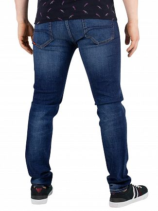 Superdry Union Dark Blue Tyler Slim Jeans