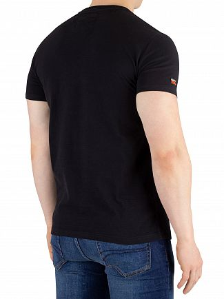 Superdry Black Vintage Logo Authentic T-Shirt