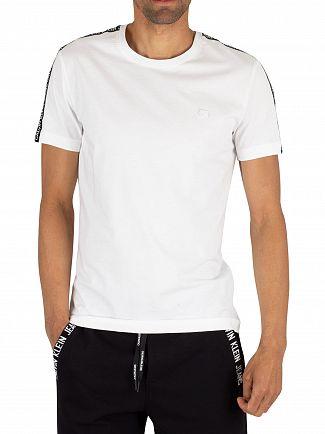 Calvin Klein Jeans Bright White Sleeve Logo T-Shirt