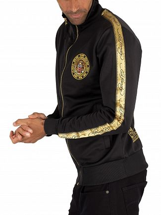 Ed Hardy Black Tiger Crouch Track Top