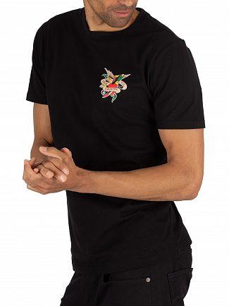 Ed Hardy Black Till Death T-Shirt