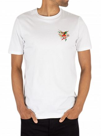 Ed Hardy White Till Death T-Shirt