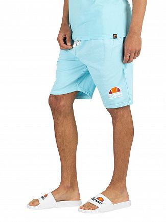 Ellesse Neon Blue Barbados Sweat Shorts