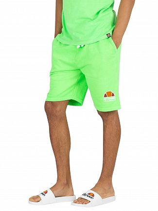 Ellesse Neon Green Barbados Sweat Shorts
