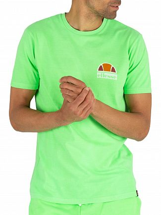 Ellesse Neon Green Cuba T-Shirt