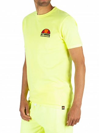 Ellesse Neon Yellow Cuba T-Shirt