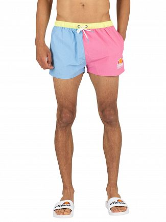 Ellesse Pink/Blue Martinique Swim Shorts