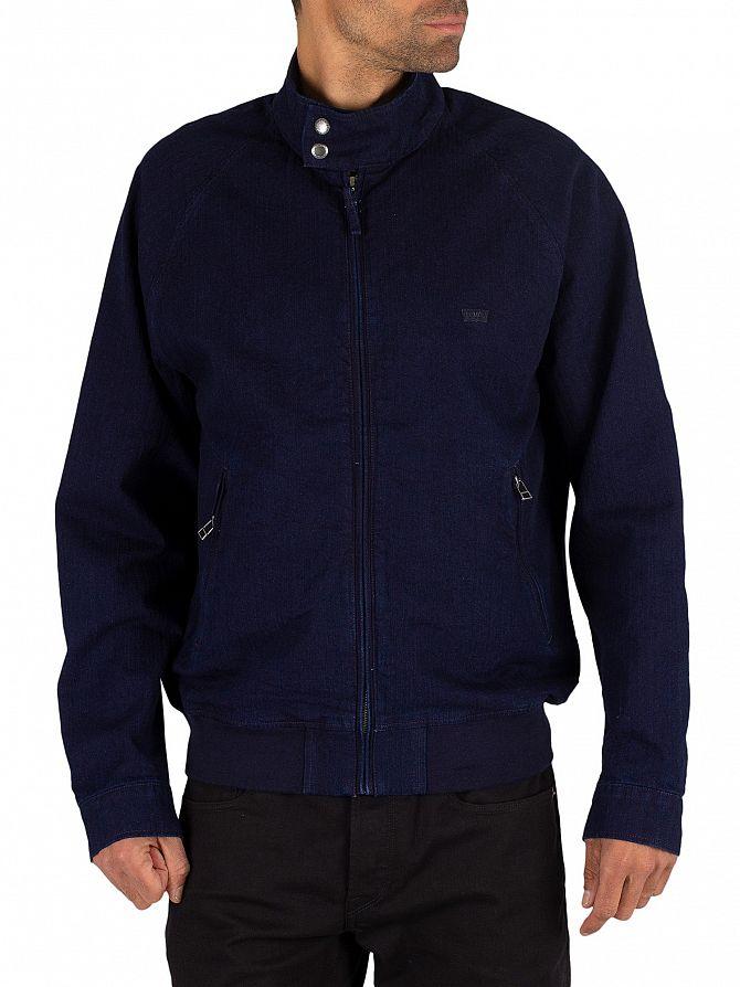 Levi's Indigo Harrington Jacket