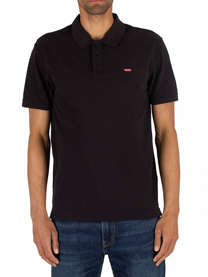 Levi's Mineral Black Housemark Poloshirt