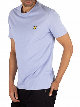 Lyle & Scott Blue Smoke Crew Neck T-Shirt