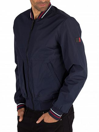 Superdry Navy Compton Bomber Jacket