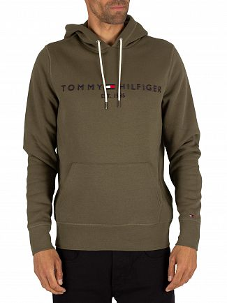 Tommy Hilfiger Grape Leaf Logo Pullover Hoodie