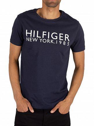Tommy Hilfiger Navy Blazer Logo T-Shirt