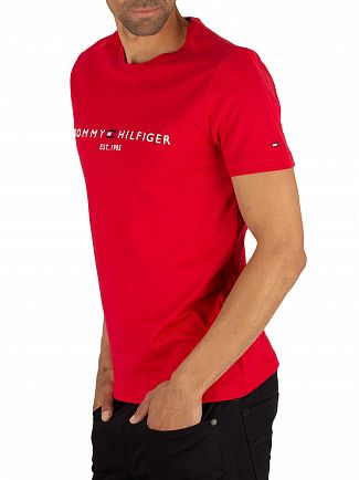 Tommy Hilfiger Haute Red Logo T-Shirt