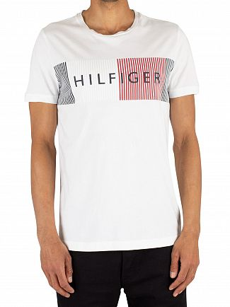 Tommy Hilfiger Bright White Merge T-Shirt