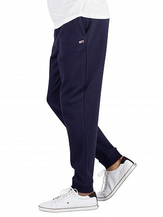 Tommy Jeans Black Iris Navy Classic Joggers