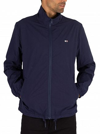 Tommy Jeans Black Iris Navy Novelty Track Jacket