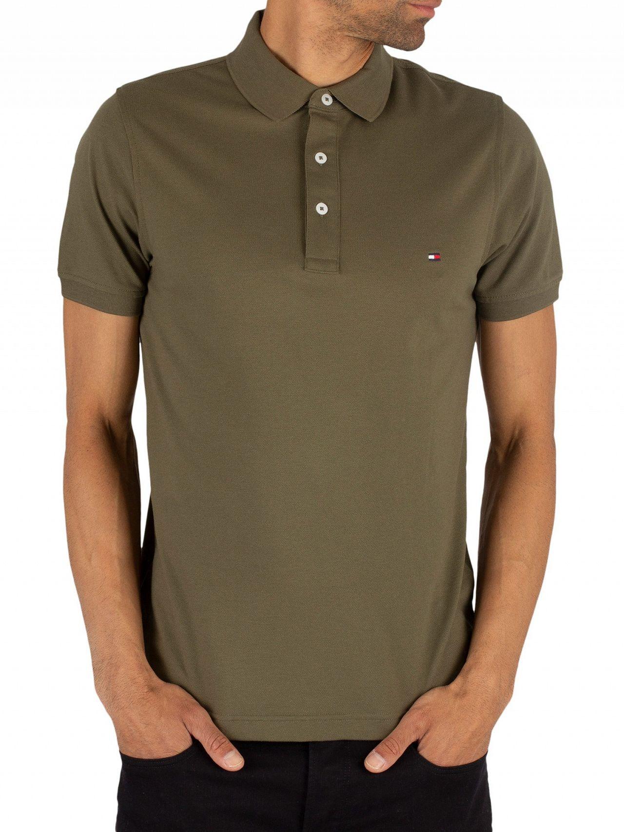 18df34c5 Tommy Hilfiger Grape Leaf Slim Fit Poloshirt | Standout