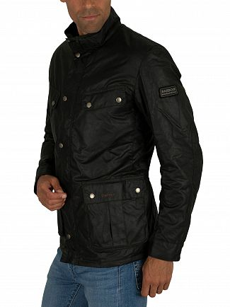 Barbour International Sage Duke Wax Jacket