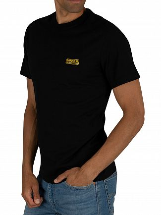 Barbour International Black Small Logo T-Shirt