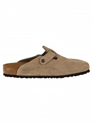 Birkenstock Taupe Boston Sandal