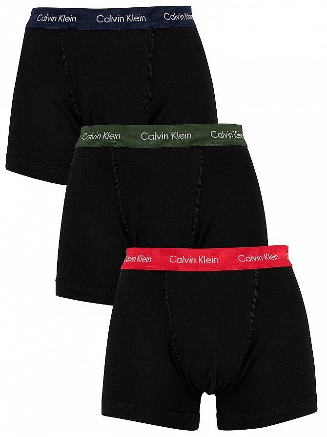 Calvin Klein Lollipop/Duffle Bag/Peacoat 3 Pack Trunks