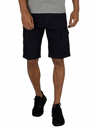 Carhartt WIP Dark Navy Aviation Cargo Shorts