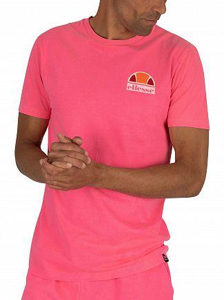 Ellesse Neon Pink Cuba T-Shirt
