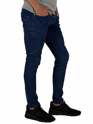 G-Star Imperial Blue Revend Skinny Jeans