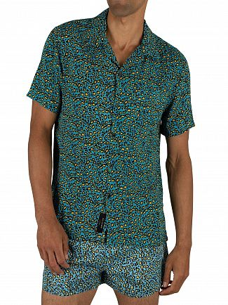 Religion Blue Daze Pocket Short Sleeve Shirt