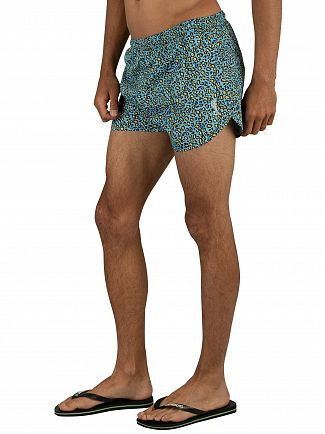 Religion Blue Daze Swimshorts