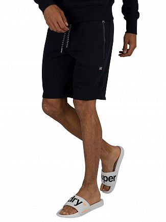 Superdry Box Navy Collective Sweat Shorts
