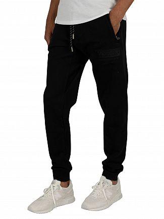 Superdry Black International Applique Joggers