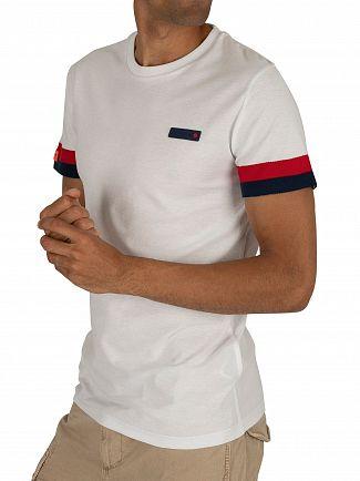Superdry Optic White International Engineered T-Shirt
