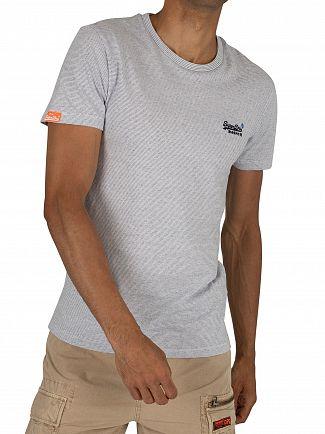 Superdry Optic Grit Feeder Orange Label Vintage Embroidery T-Shirt