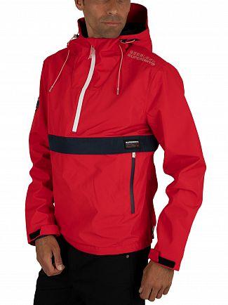 Superdry Tomato Red Overhead Elite SD-Windcheater Jacket