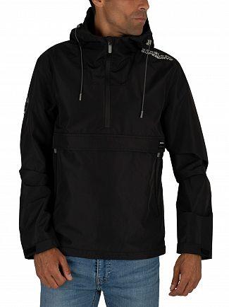 Superdry Black Overhead Elite SD-Windcheater Jacket
