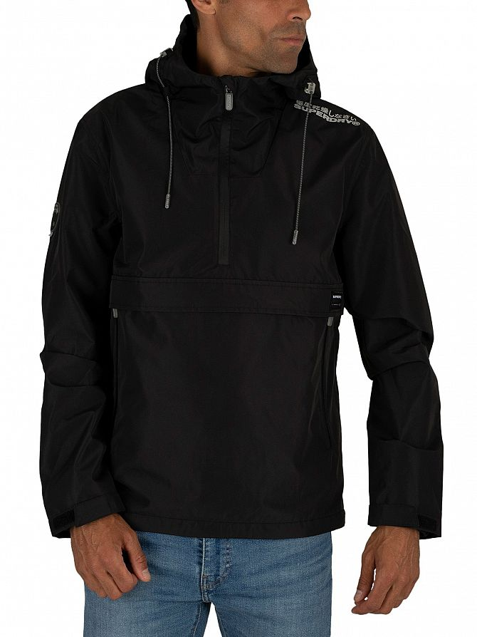 Superdry Black Overhead Elite SD-Windcheater Jacket