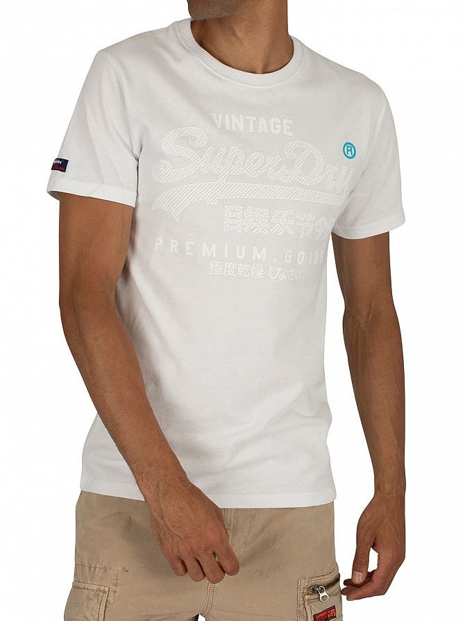Superdry Optic Premium Goods Tonal T-Shirt
