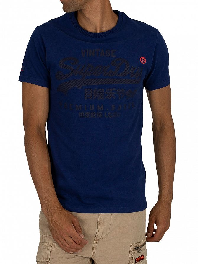 Superdry Blueprint Premium Goods Tonal T-Shirt