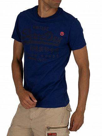 Superdry Blueprint Premium Goods Tonal T-Shirt