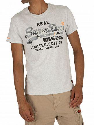 Superdry Ice Marl Vintage Logo Fero T-Shirt