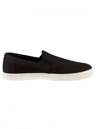 Timberland Black Union Wharf Canvas Slip On Trainers