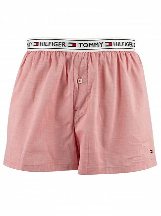 Tommy Hilfiger Rose Of Sharon Authentic Woven Boxers