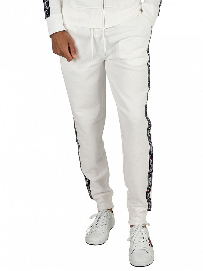 Tommy Hilfiger White Track Joggers