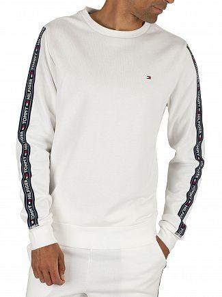 Tommy Hilfiger White Track Sweatshirt