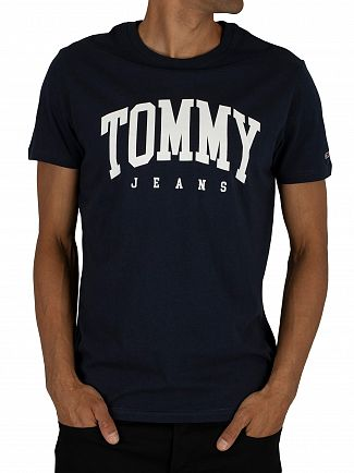 Tommy Jeans Black Iris Navy Essential T-Shirt