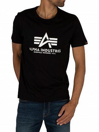 Alpha Industries Black Basic T-Shirt