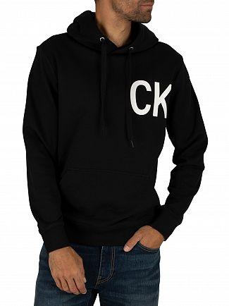 Calvin Klein Jeans Black/White Statement Hoodie