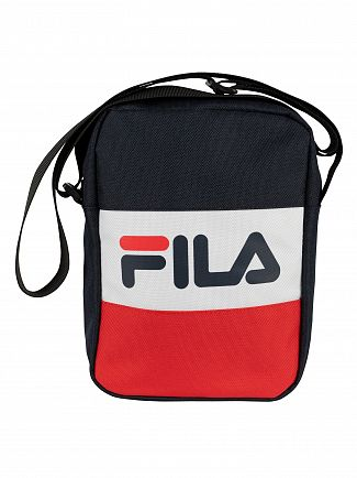 Fila Peacoat/Red/White Sheckles Cross Body Bag
